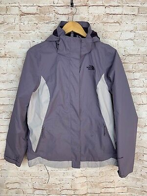 8d12d4a8646d The North Face Women s Dry Vent Windbreaker Jacket Hooded Gray Purple Size M