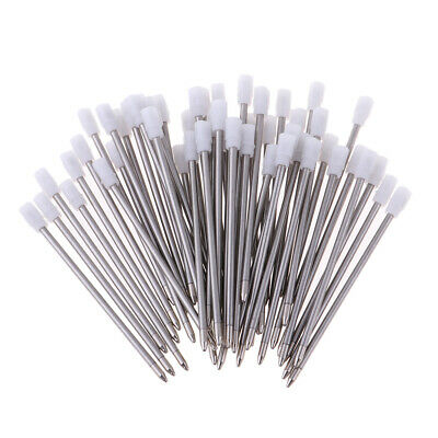 Set of 50 Standard Ink 1mm Rollerball Pen Refills Replacement Parts
