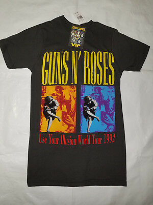 Guns and Roses Vip Black T shirt Official Merchandise S New