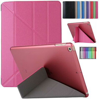 For iPad 9.7 2017 2018 Mini Air Pro 10.5 Smart Flip Magnetic Leather Case Cover