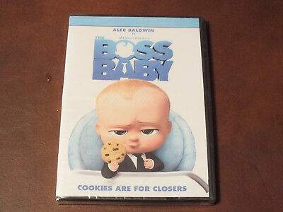 Dreamworks The Boss Baby w/ Alec Baldwin (DVD, 2017) Brand New in Wrapping