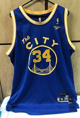 buy online c3698 d1c76 VINTAGE GOLDEN STATE Warriors Mike Dunleavy Reebok Hardwood Classics  jersey, XL