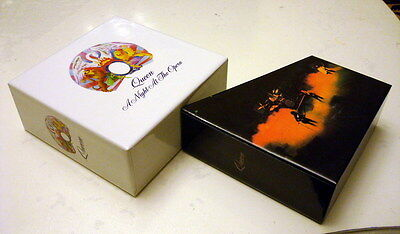 Queen A Night at the Opera PROMO EMPTY BOX for jewel case, mini lp cd