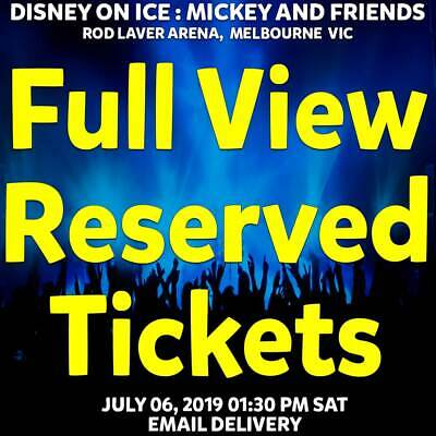 Disney On Ice Mickey & Friends Melbourne Full View Tickets Sat 06 Jul 2019 1Pm