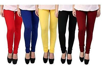Viscose Lycra Leggings Trousers for Women Comfortable & Stylish - Pack of 5