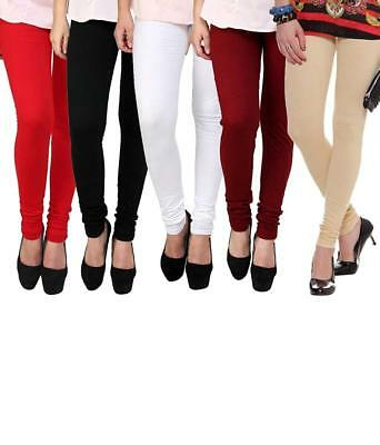 Viscose Leggings for Women Comfortable & Stylish - Pack of 5 Trousers Free Size
