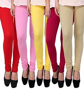 Women's Leggings Designer Pant Trousers Comfortable & Stylish - Pack of 5 Color