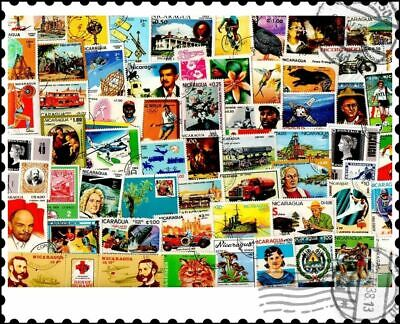 Nicaragua : 200 Different Stamps Collection