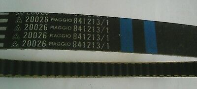 Piaggio Variator Drive Belt GENUINE 841213/1 NEW   £ 26.95