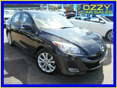 2010 Mazda 3 BL SP25 Black Manual 6sp M Sedan
