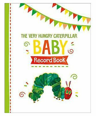 Rainbow Designs VERY HUNGRY CATERPILLAR BABY RECORD BOOK Baby BNIP