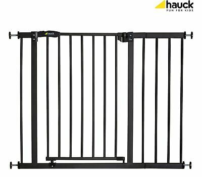Hauck CLOSE'N STOP + 21CM EXTENSION - CHARCOAL Baby Safety Stair Gate BNIP