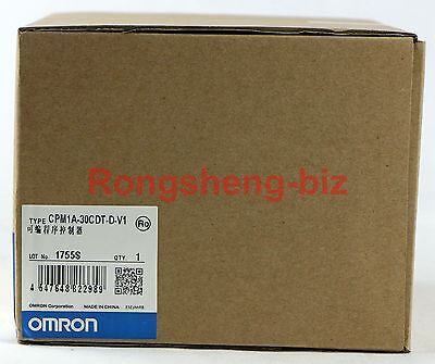 New Omron Sysmac PLC Controller Model CPM1A-30CDT-D-V1 #019