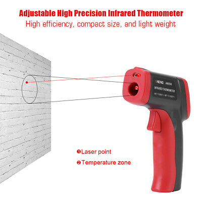 ANENG AN550 ABS Adjustable Infrared Thermometer Non Contact Temperature HG