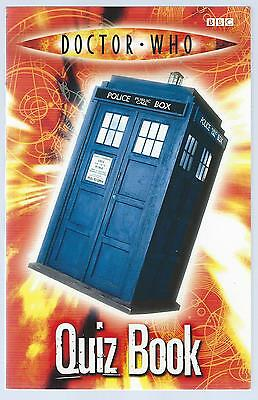 Doctor Who Quiz Book Stephen Cole BBC 2005 10th Printing Paperback G+ Condition
