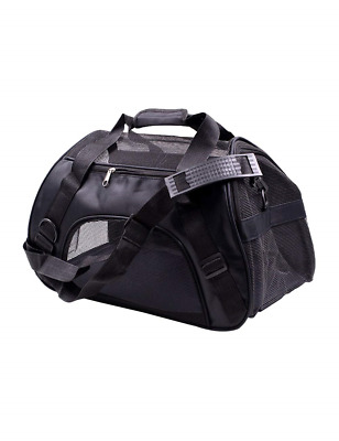 besbomig Pet Carrier Travel Soft Sided Bags for Dogs Cats - Lightweight Portable
