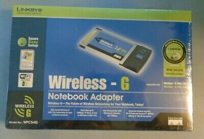 CISCO LINKSYS WPC54G DRIVERS FOR MAC