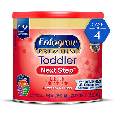 Enfagrow PREMIUM Toddler Next Step Milk Drink, Natural Milk Flavor, Powder