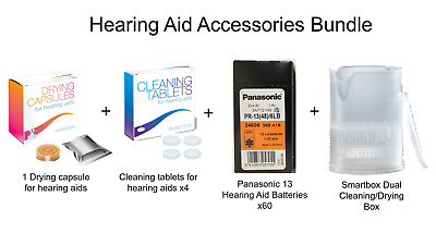 Hearing Aid Accessories - Bundle Saving (Size 13)