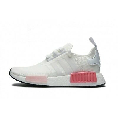 new product 90aa7 a44f8 ADIDAS ORIGINALS NMD R1 Women's Mesh BY9952 Icy Pink White Rose Runner Rare
