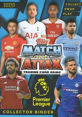 Topps Match Attax 2018 2019 18 19 50 or 100 different cards - Joblot/ bundle