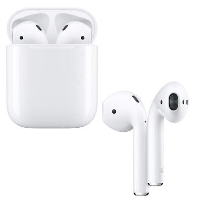 Apple Airpods 2 weiß In-Ear Bluetooth Kopfhörer Ohrhörer Headset 2.Generation
