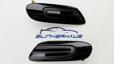 SCHWARZE LED Seitenblinker Mini F55 F56 F57 One D Cooper S SD Works JCW GP