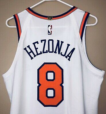 a3276d2697de Mario Hezonja New York Knicks Game Used Worn Nike NBA Jersey (STEINER LOA)