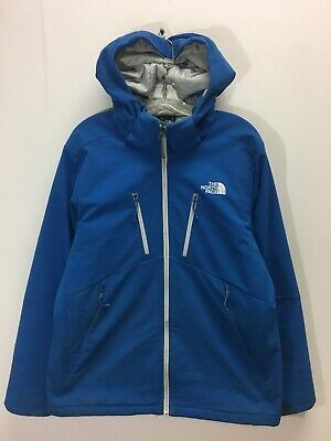 18b056fb822f The North Face Primaloft Light Insulated Winter Jacket Size Mens Large Blue