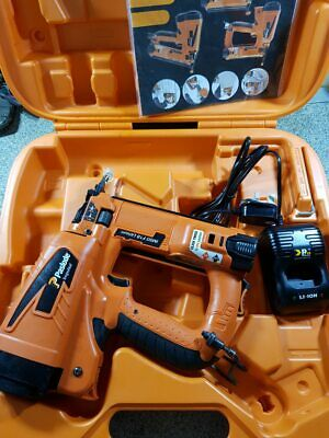 PASLODE IM50 Li F18 Li-ion CORDLESS SECOND FIX NAIL GUN KIT, FULLY SERVICED