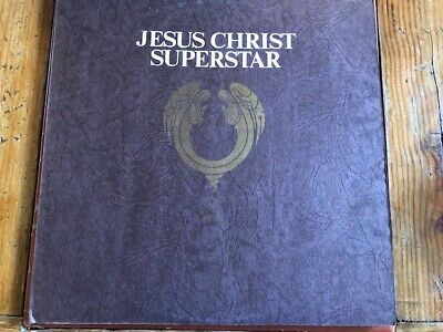 JESUS CHRIST SUPERSTAR Decca Records Stereo Gatefold x2 LP DL-79178 EX/EX