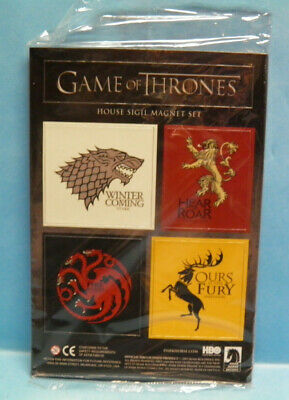 Dark Horse Comics HBO Game of Thrones House Sigil Magnet Set