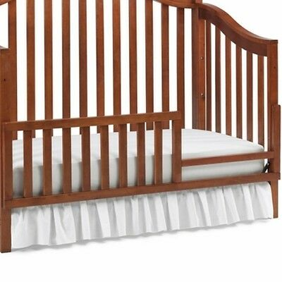 LaJobi Universal Guard Rail lifestyle Chestnut 4598814 Baby NEW toddler
