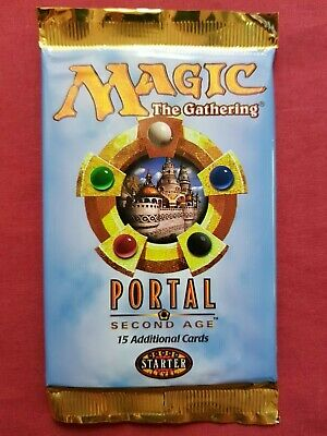 MTG Brand New Sealed Booster Pack x 1 * Portal 2 Second Age