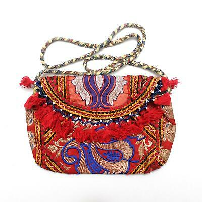 Vintage Tribal Banjara Indian Handmade Ethnic Women Purse Bohemian Clutch Bag