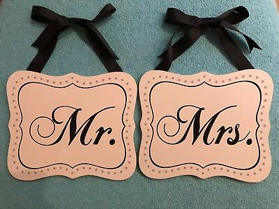 Wedding Party Photo Booth Mr/&Mrs Letter Garland Banner Props Party DecoYJHK