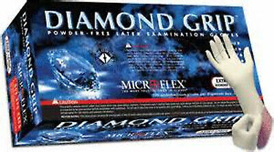 Microflex Ansell Diamond Grip Extra Large Latex Exam Glove Box of 100 MF-300-XL