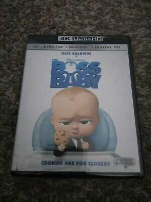 NEW!!! The Boss Baby 2017, With Digital Copy 4K Ultra HD Blu-ray