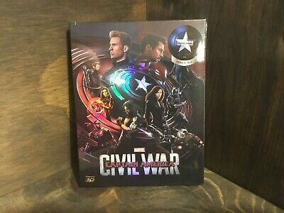 Captain America: Civil War - NovaMedia Blu Ray Steelbook (3D+2D) B #129/700