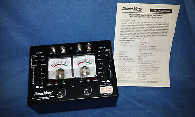 Channel Master Model 1008A Satellite Signal Level Meter -New- Price Reduced!