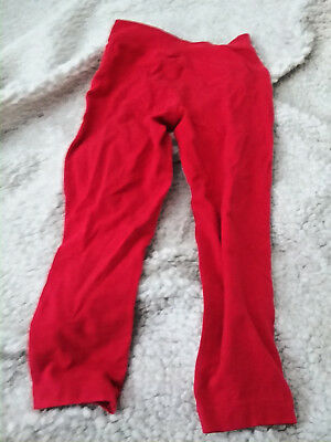 Garanimals 365 Kids Girls Red Leggings w/Lace on side Size 6