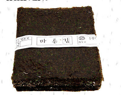 100-sheets Korean Parae Seaweed Dried Laver Healthy FOOD sushi gimbab nori