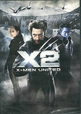 X2 X-MEN UNITED with Hugh Jackman and Patrick Stewart - NEW DVD Free Shipping