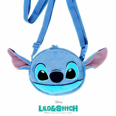 Lilo&Stitch Soft Cross Pouch Bag Toy Disney Hand Bag Purse Disney Character are