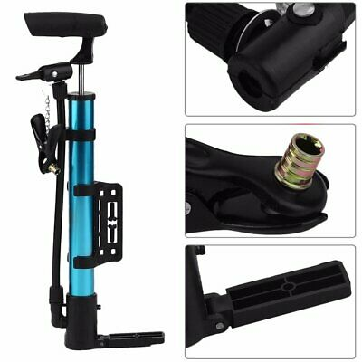 Portable Bicycle Air Pumps Inflater MTB Bike Cycling Presta Schrader Valve Balls