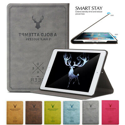 For iPad 9.7 2018 Air 1/2 Mini 2 3 4 Magnetic Smart Flip Leather Full Cover Case