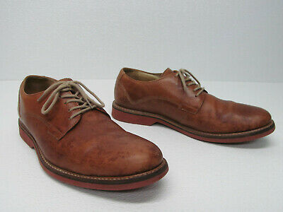05e6d67eb74 1901 MENS M12511 Tan Leather Oxfords Lace Up Shoes Size 10.5 M ...