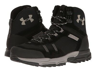 bc7ff9138b6 UNDER ARMOUR MENS Post Canyon Mid Hiking Boots Black Size 11.5 ...