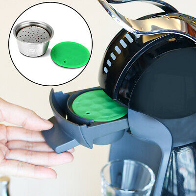 Refillable Reusable Coffee Capsule Pods Cup For Dolce Gusto Machine Filter Set