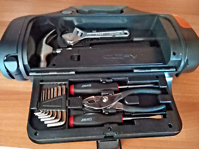 Set Emergenza Auto Camper Torcia + Kit Attrezzi - Safety Lamp And Tools Car